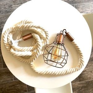 Other - Decorative Rope Hanging Light